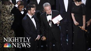 Stunning Oscars Mistake Seen