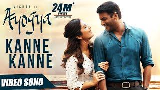 Kanne Kanne Full Video Song | Ayogya | Anirudh Ravichander | Vishal, Raashi Khanna | Sam CS