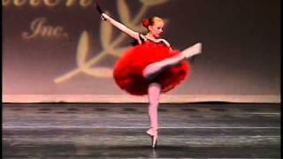 Amanda Hall, 9 years old, Ballet Don Quixote, Pembroke Ballet