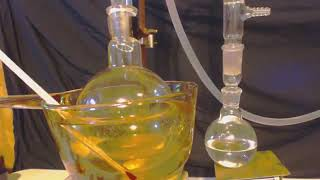 AZEOTROPE DISTILLATION TO EXTRACT PURE TOLUENE FROM AUTO PARTS CLEANER