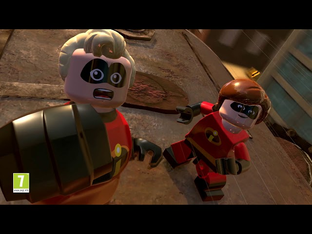 Official LEGO® The Incredibles Crime Waves Trailer