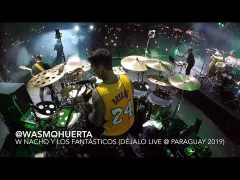 "Xxx Mp4 Wasmo Huerta With Nacho Y Los Fantásticos ""Déjalo"" Live Paraguay 2019 DRUM CAM 3gp Sex"