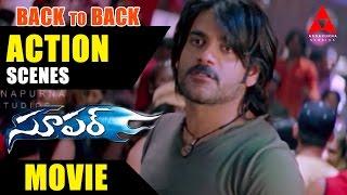 Super Movie Back to Back Action Scenes Part - 2 - Nagarjuna