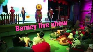 nonton live show barney di hellokitty johor bahru...day 1 sore sore