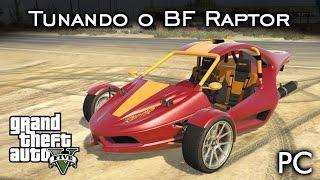 Tunando o BF Raptor! Trike ANIMAL! =D   DLC Motoqueiros   GTA V - PC [PT-BR]