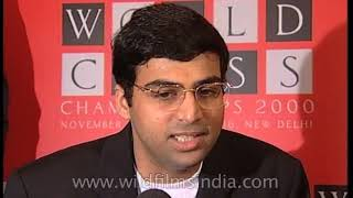Viswanathan Anand feels proud to host World Chess Championship in Delhi
