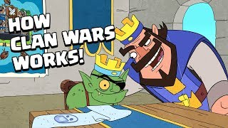 Clash-A-Rama! How Clan Wars Works!