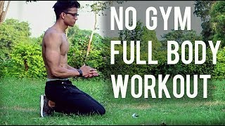 No Gym Full Body Workout At Home | Yash Anand