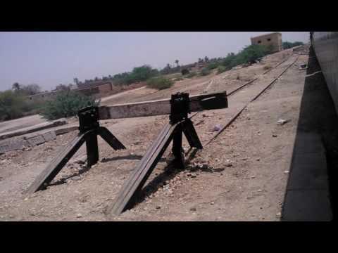 Pakistan Railways:14dn Awam Express departing Gambat