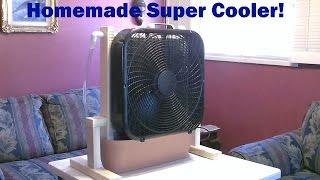 Homemade Evaporative Cooler! -