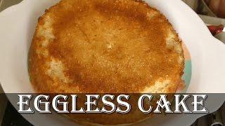 Eggless Cake in Pressure Cooker in Kannada - How to make eggless cake in pressure cooker