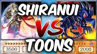 SHIRANUI vs TOONS (Yu-gi-Oh Competitive Deck Duel)