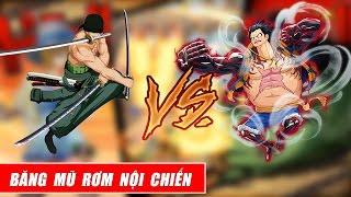 Song đấu One Piece : Nội chiến băng mũ rơm - Luffy vs Zoro