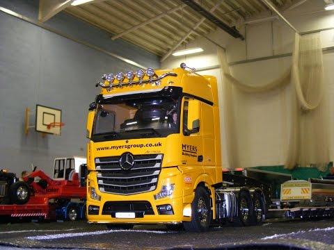 RC TRUCKS LEYLAND JUNE 2016 1 14 Tamiya Rc Trucks LKW Scania Carson Wedico