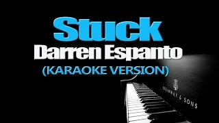 STUCK - Darren Espanto (KARAOKE VERSION)