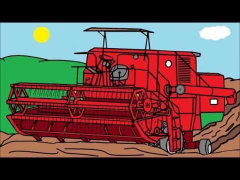 Moje rysunki w paincie maszyny rolnicze cz.2