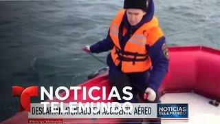 Investigan accidente de avión ruso en el Mar Negro | Noticiero | Noticias Telemundo