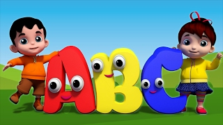 Junior Squad Kids Nursery Rhymes - ABC Song Alphabets Song Learning ABC Baby Rhyme Jr.Squad S01EP09
