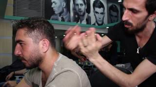 ASMR Turkish Barber Face Head and Body Massage 8