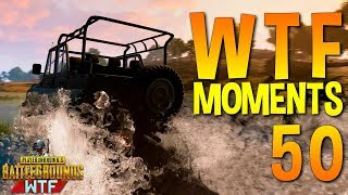 PUBG WTF Funny Moments Highlights Ep 50 (playerunknown's battlegrounds Plays)