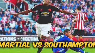 Anthony Martial ♦ Goals 2015 ♦ New player of Manchester United