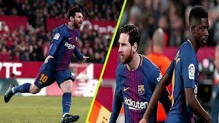 Lionel Messi ● 6 Matches Comes from the bench & Overturn the game