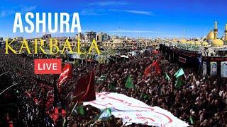LIVE 🔴 ASHURA from Karbala 10 Muharram | 1440 Hijri / 2018