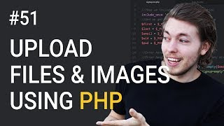 62: Upload files and images to website in PHP - Learn PHP backend programming