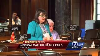 Nebraska Legislature abandons medical marijuana