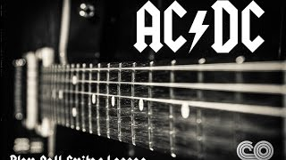 How to play AC/DC Play Ball Guitar Lesson (1080p)
