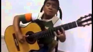 Budak Kecil Main Gitar Lagu Titanic Mengalahkan Sungha Jung