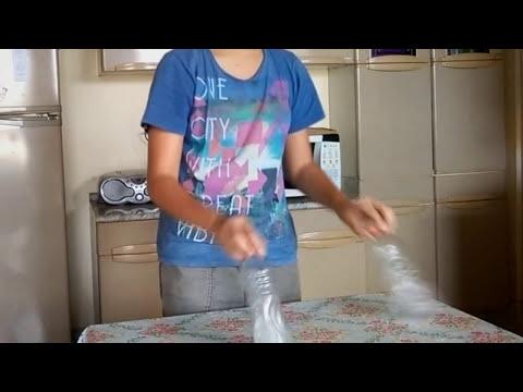 FIZ O IMPOSSÍVEL NO DESAFIO DA GARRAFA!!! (Water Bottle Flip Challenge)