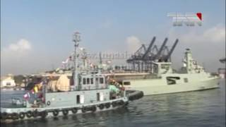 Karachi  Royal Omani Navy Ships aarive to Conduct Joint Naval Eercise with Pakistan Navy
