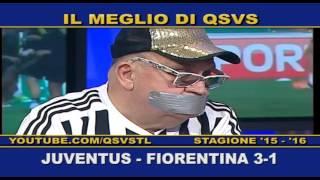 QSVS - I GOL DI JUVENTUS - FIORENTINA 3-1 TELELOMBARDIA / TOP CALCIO 24