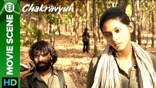 Abhay Deol gets captured by Naxalites | Anjali Patil | Chakravyuh