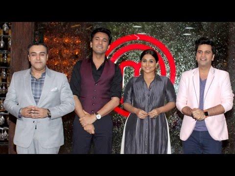 Vidya Balan On The Sets Of Masterchef India Season 5