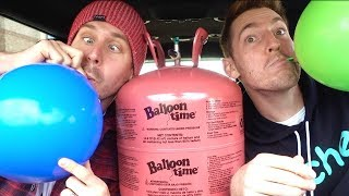 HELIUM TANK IN THE DRIVE THRU!