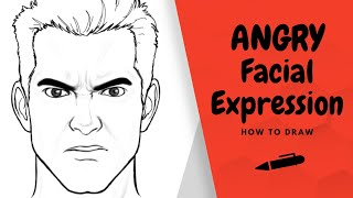 How to Draw an Angry Expression