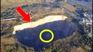 عثروا على هذا الشيء في اعماق الارض , وهو يحتوي على معدن لم يره اي احد من قبل