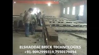 Latest Technology Clay Brick Making  Machine Tunnel Kiln #ALN