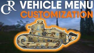 Vehicle MENU Customization + 3 NEW PUZZLE MELEE Weapons - Battlefield 1
