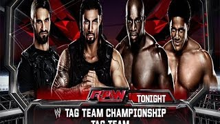 WWE 2K14: The Shield vs The Prime Time Players- WWE Tag Team Championships