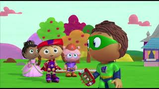 Super WHY! Full Episodes English ✳️ The Little Red Hen  ✳️  S01E14