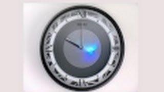 QXS003KLH Seiko Melodies in Motion Black Emotional Lights Wall Clock