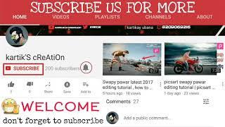 New picsart editing video Sb  editing