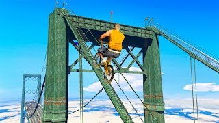 MOST IMPOSSIBLE OBSTACLE RACE EVER (GTA 5 Funny Moments)