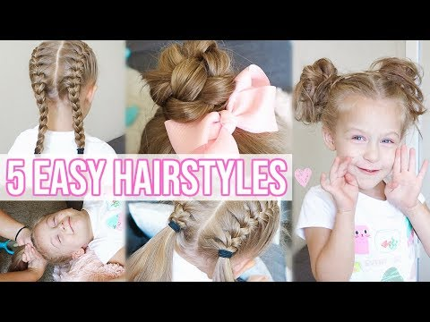 Xxx Mp4 5 EASY HAIRSTYLES FOR LITTLE GIRLS Back To School Hairstyles For Girls 3gp Sex