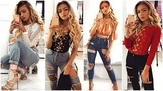 JEANS AND A NICE TOP LOOKBOOK 2018
