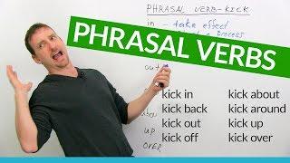 Learn 8 KICK Phrasal Verbs in English: