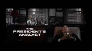 The President's Analyst opening titles